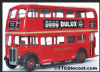EFE 10107 AEC Regent RT - London Transport - Route 177 Blackfriars & Embmt - PRE OWNED